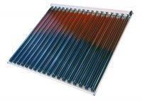 solar collector, U type copper tube (colector solar con tubo de cobre)