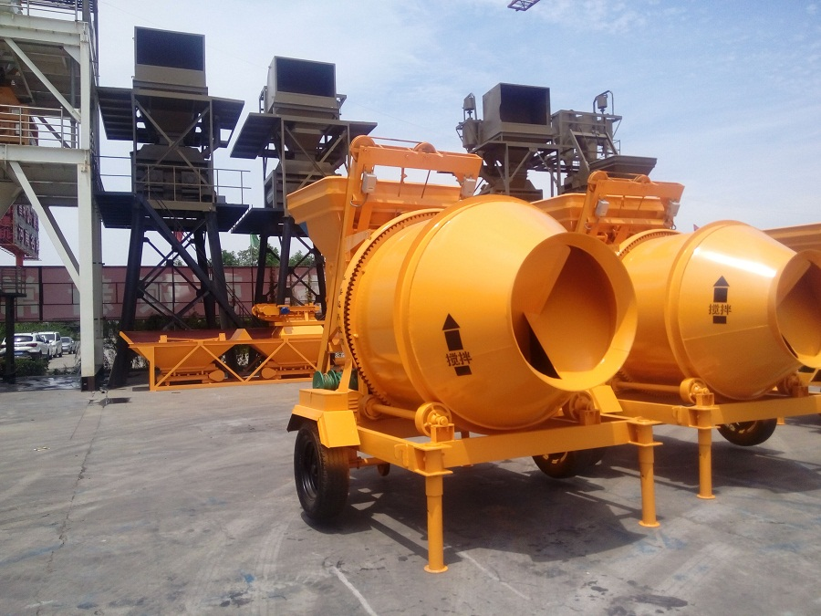 Easy Operation JZC Concrete Mixer
