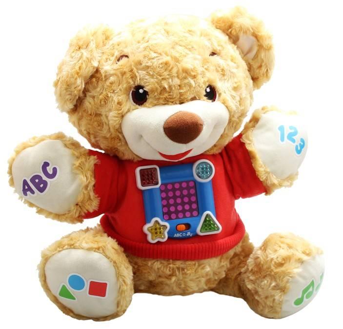 Educational Baby Music Plush Customed Teddy Bear toy