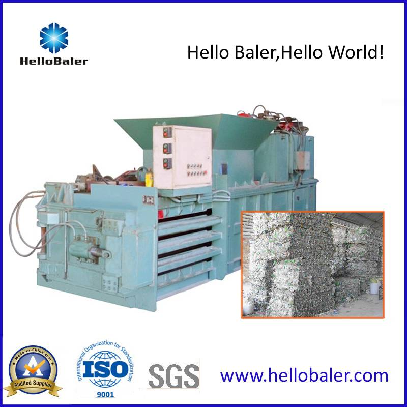 Hydraulic Automatic Plastic Tire sheet iron Closed Door Balers