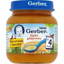 GERBER 125g Cream From Vegetable With Chicken For Children
