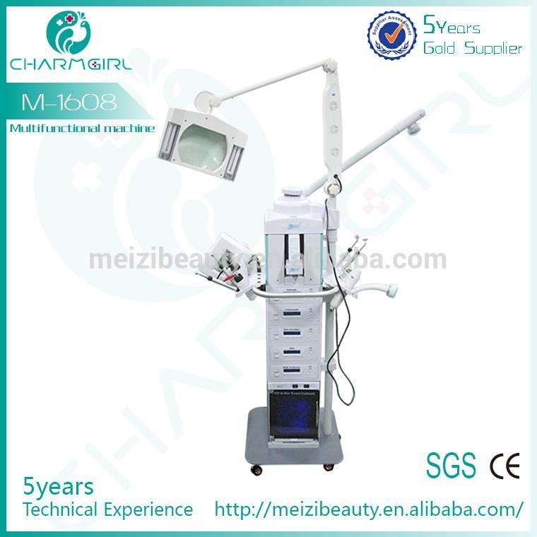 M1608 multifunction facial beauty machine / 19 in 1 facial machine