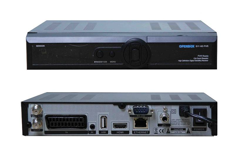 DVB-S2 openbox S11 hd pvr open box s11 hd digital satellite receiver