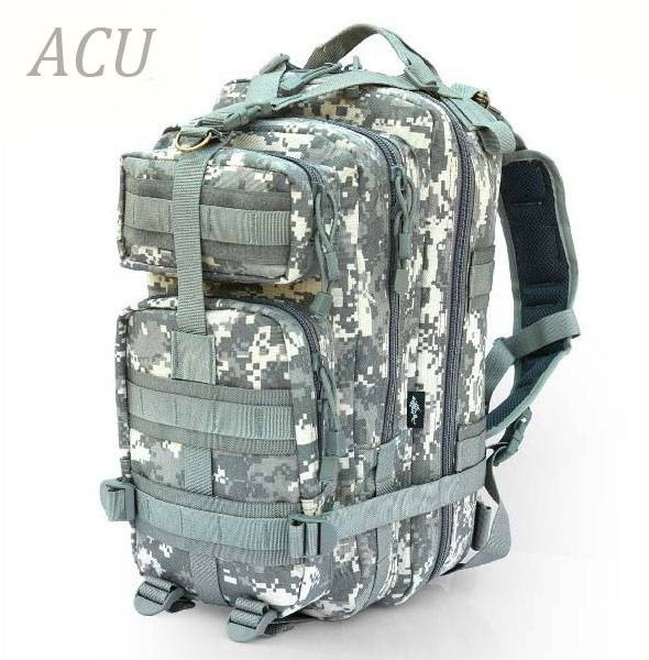 Military 3P backpack outdoor pack waterproof nylon bag