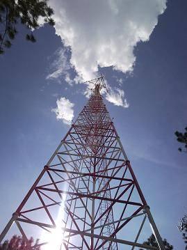 60meters self-support lattice steel tower