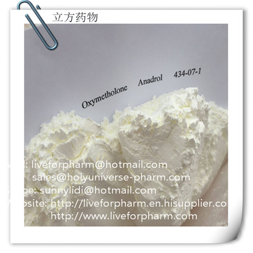 Oxymetholone,Anadrol Anapolon CAS 434-07-1 anabolic-androgenic steroid