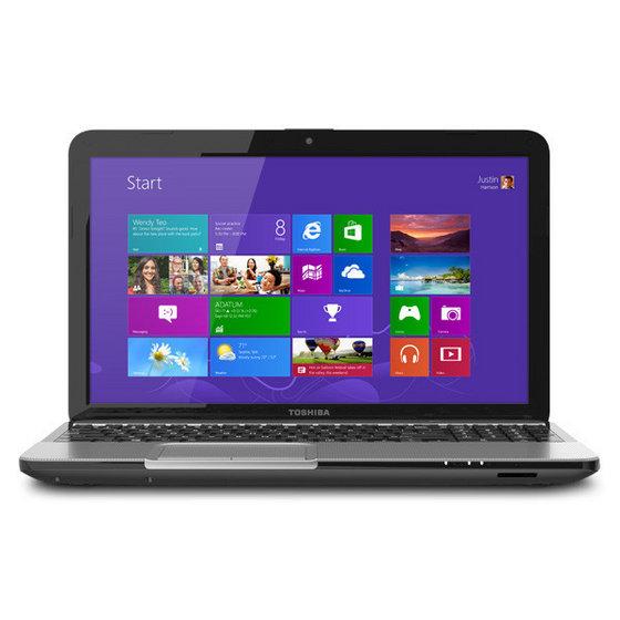 Original Toshiba L855-S5163 15.6inch 750gb I7-3630QM 2.9GHZ Windows 8 Blue-Ray Laptop Notebook