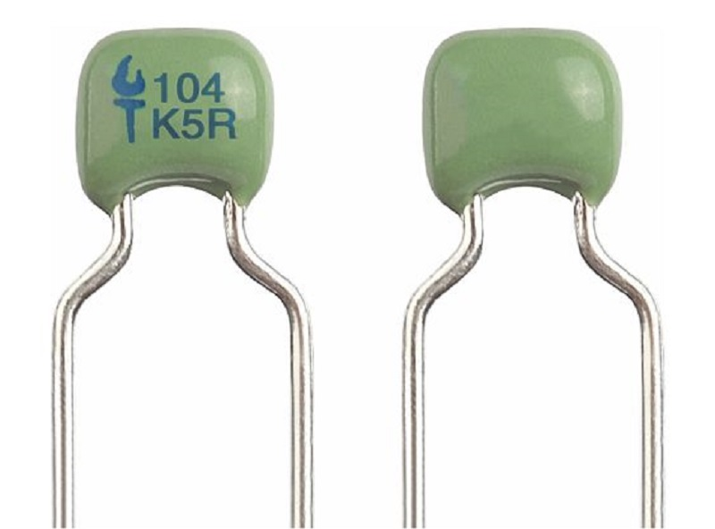 Dipped Radial Ceramic Capacitor -X7R & X5R Dielectric