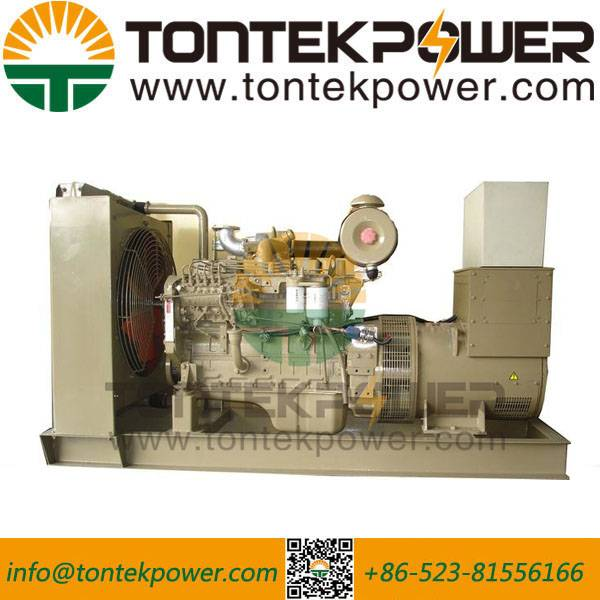 470kW Open Frame Diesel Inverter Generator For Construction