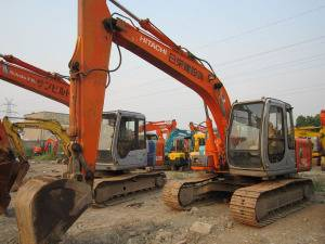Used Hitachi EX120-5 Crawler Excavator