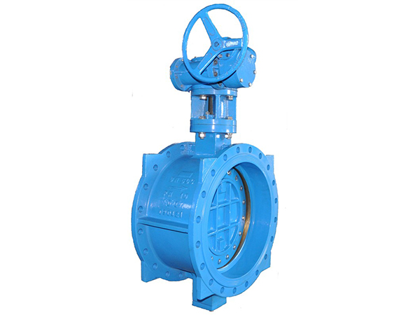 Big size Double Eccentric butterfly valves