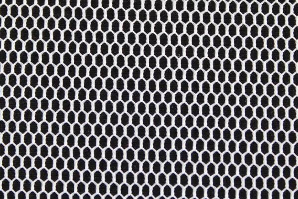 50D polyester hexgon net fabric