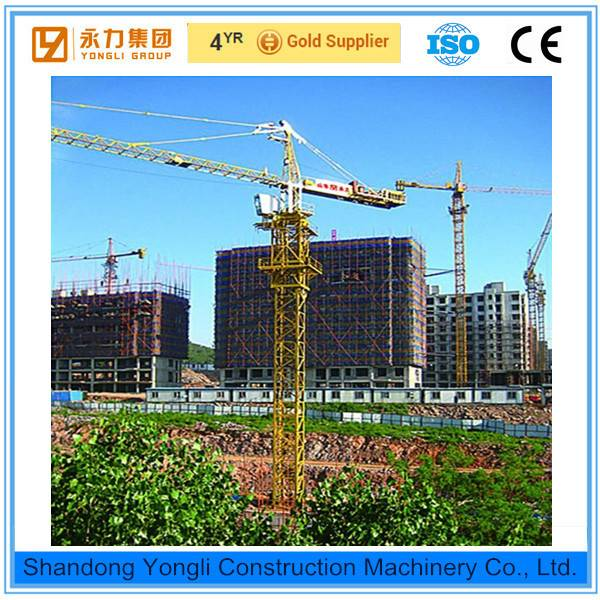 High quality QTZ63 tower crane manufacturer