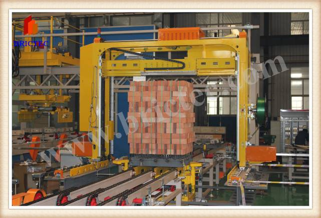 brick packing machine