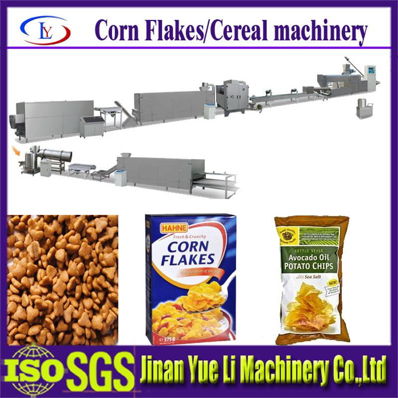 Breakfast cereals/corn flakes production line/food machine