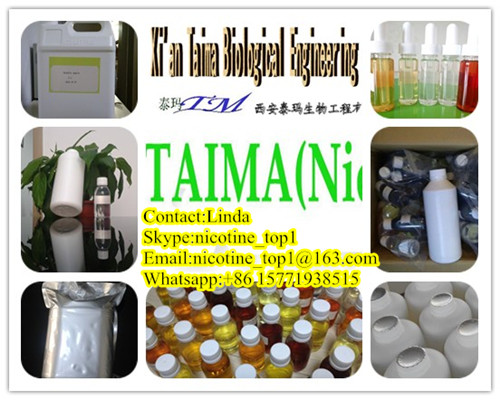 Xi'an Taima Usp grade pure nicotine and high concentrated flavors