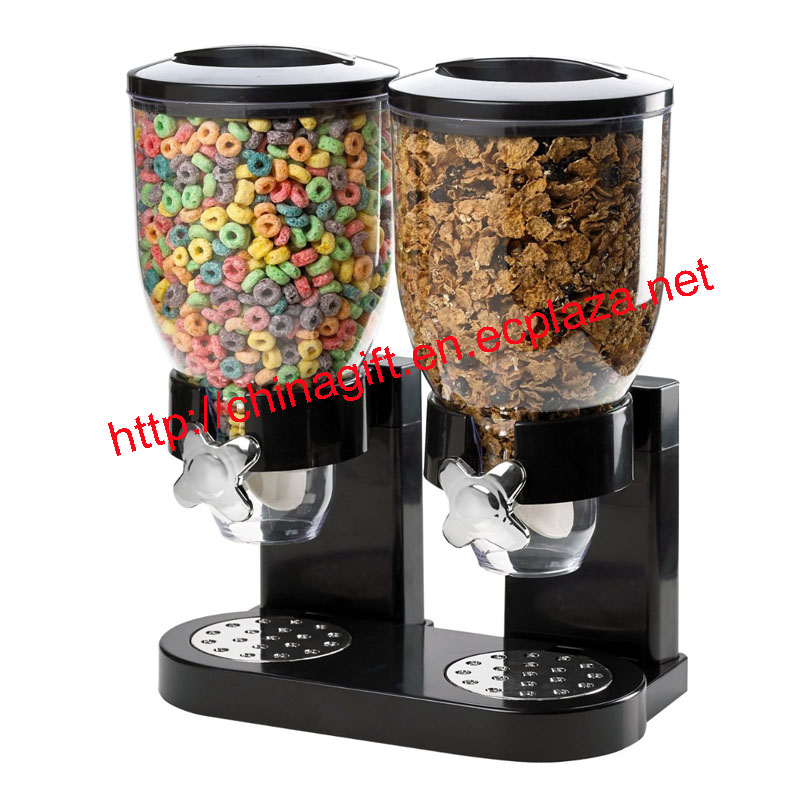 CEREAL DISPENSER DRY FOOD STORAGE CONTAINER