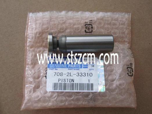 Komatsu excavator PC200-8 hydralic cylinder block 708-2L-06470,708-2L-23351,komatsu excavator spare