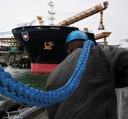 pp multifilament marine rope/mooring rope