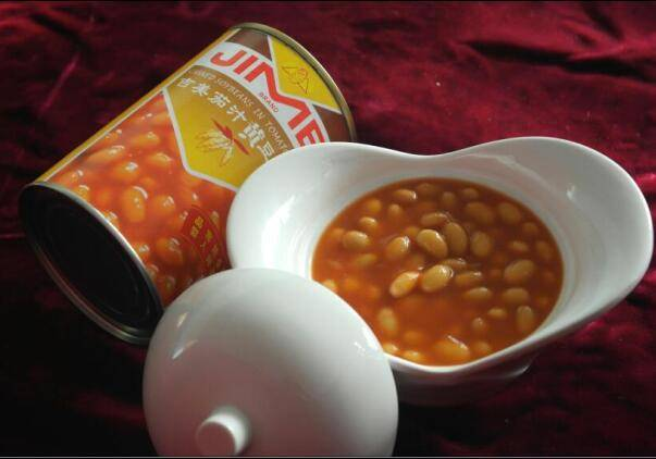 Canned Soybeans in Tomato Sauce with Net Weight 425g