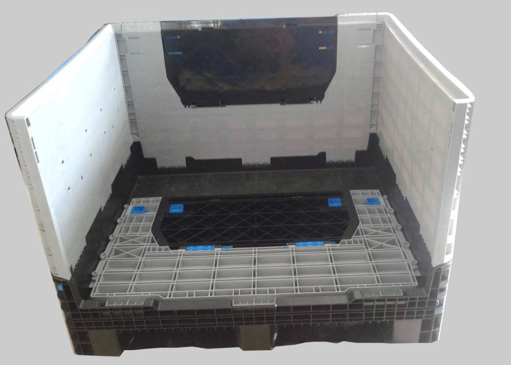 folding plastic pallet box.1200*1000*975