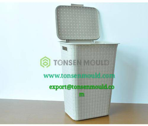 industion plastic rattan basket mould tooling