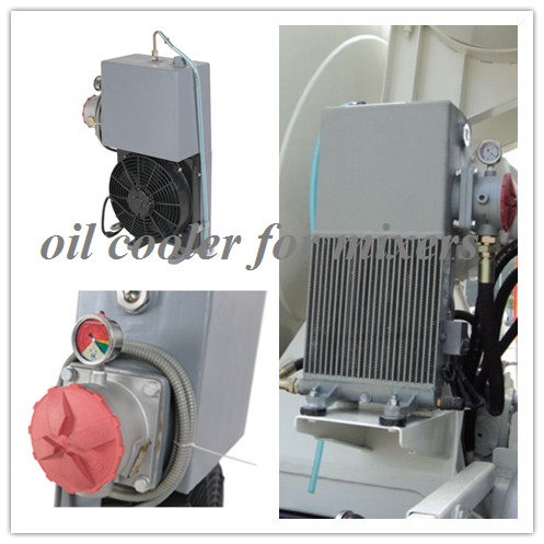 concrete mixer oil cooler