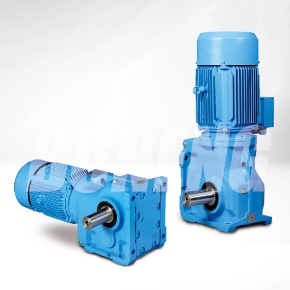 K Series Helical-Spiral Bevel Gear Box Speed Reducer