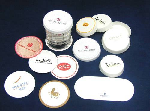 Hotel amenities-cup cover and coaster