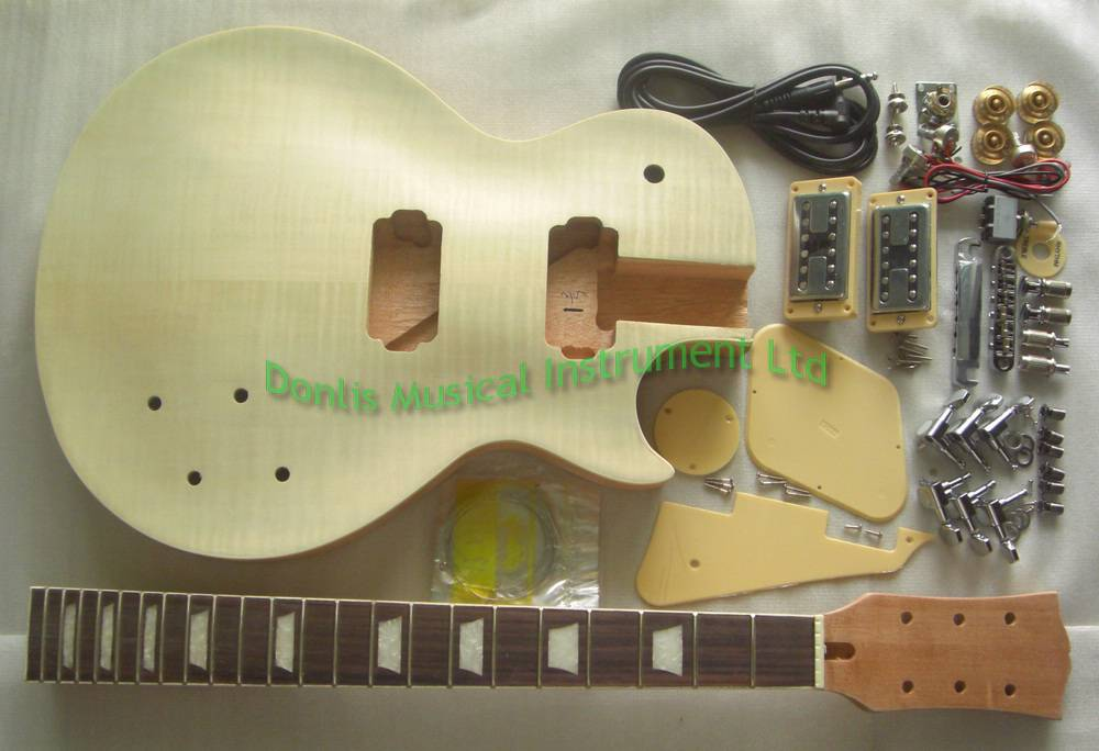 unfinished LP guitar kits