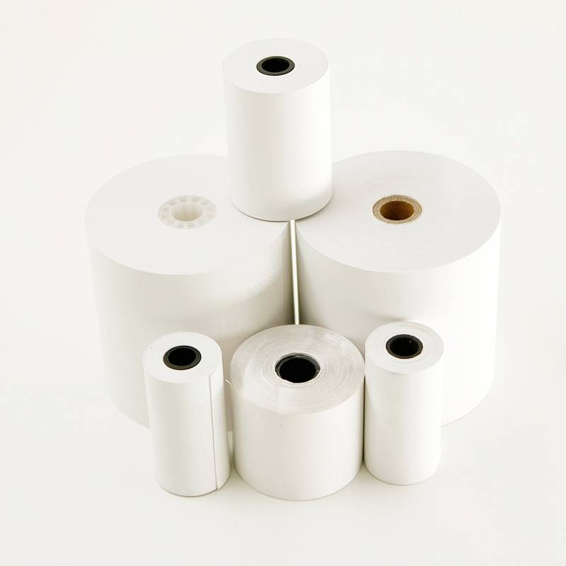 "2 1/4""x 65 feet paper roll for pos machine paper"