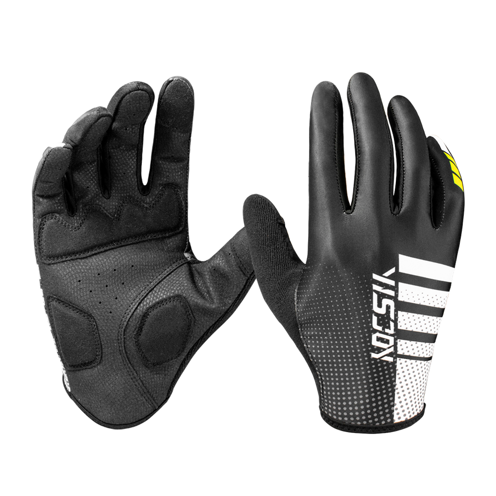Full Finger Breathable Bike Gloves Customized Bicycle Cycling Riding Gloves
