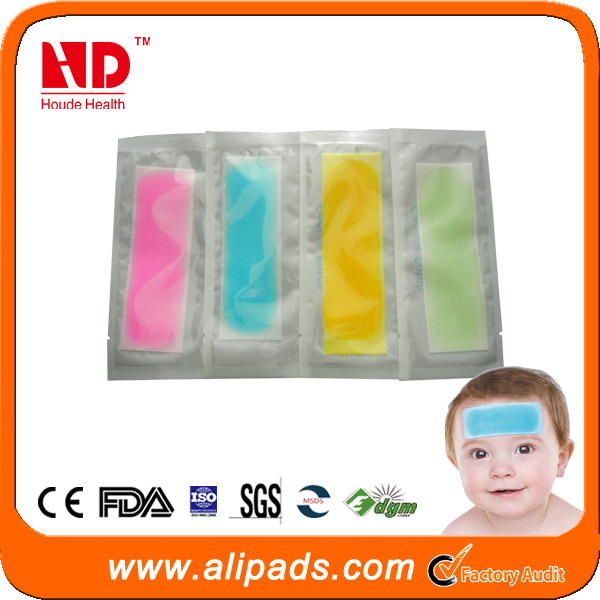 China factory wholesale baby and kids cooling gel patch