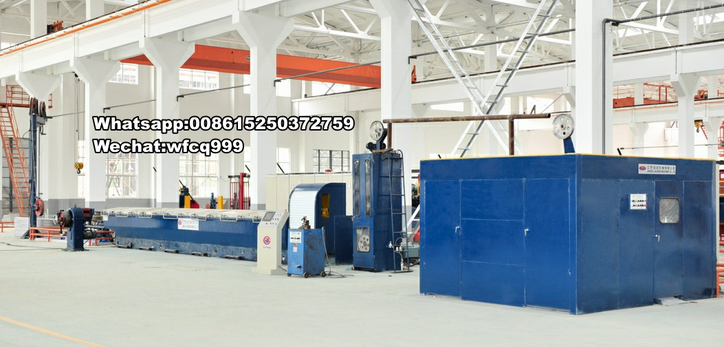 Al or Al-alloy Rod Breakdown Machine for ACCC Wire drum wire drawing machine aluminum cable drawing