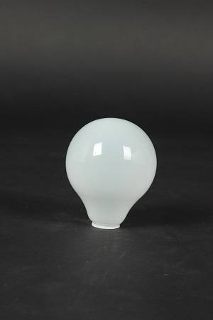 G80 white coated glass led lamp cover