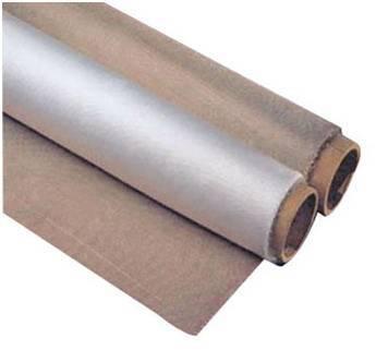 High silica fabric