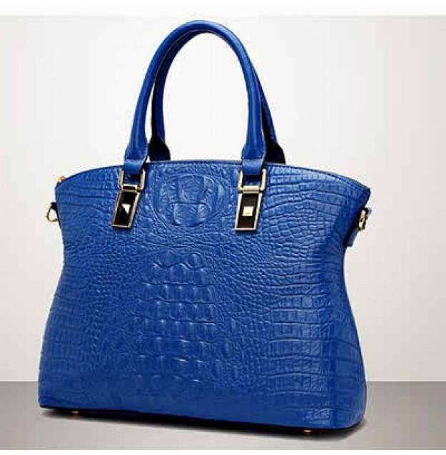 2016 wholesale new design genuine leather fashion handbag 100% cow leather handbag EMG4374