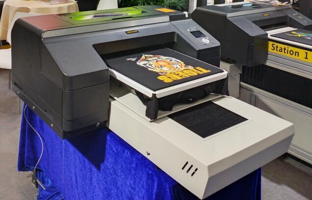A2 size printing t-shirt DTG textile printer machine