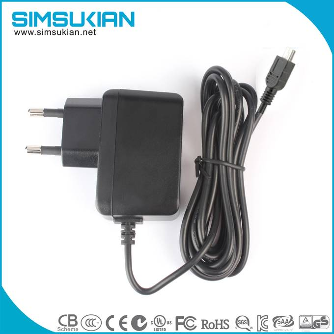 ac dc wall mount power adapter