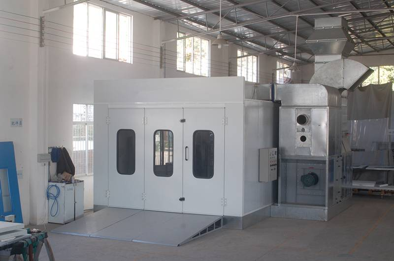 Diesel Heating System Spray Paint Booth