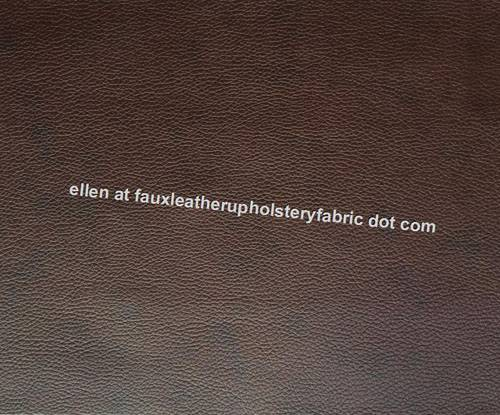 Faux Leather Auto Upholstery Fabric Car Seat Leatherette