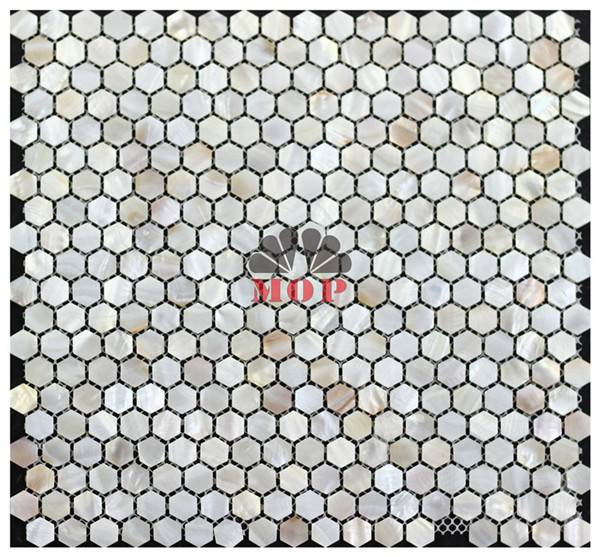mesh backing pearl shell board hotel