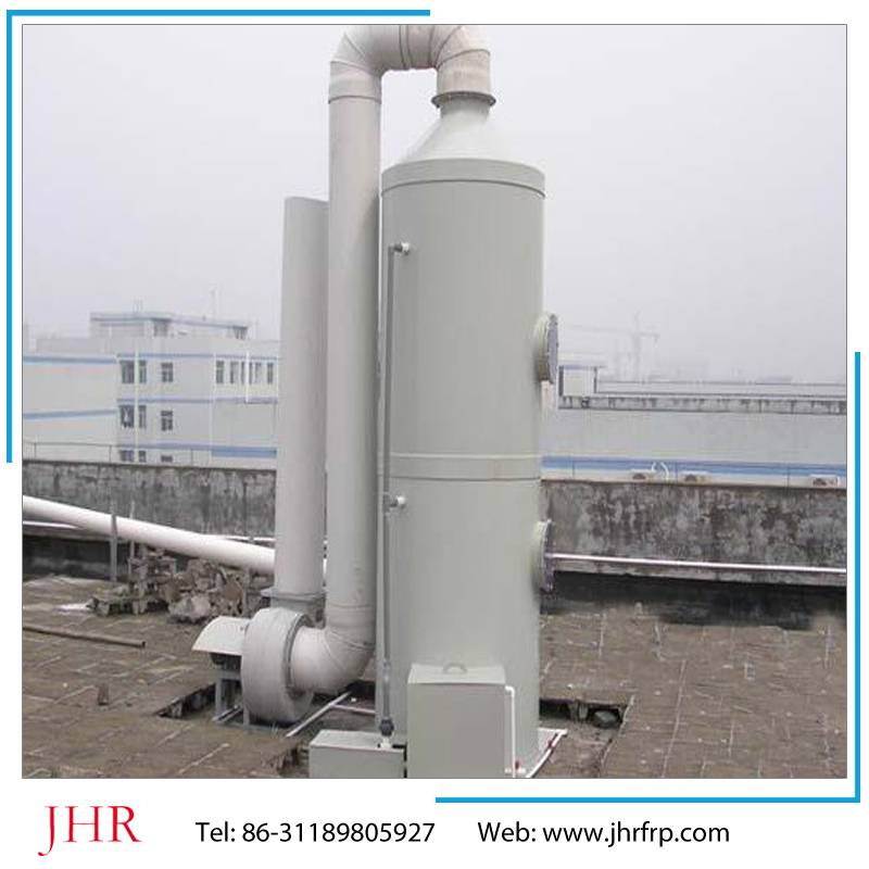 -FRP purification tower for waste gas cleaner,waste gas absorption