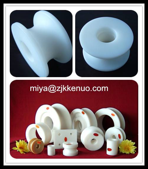 100% virgin UHMWPE Pulley with self-lubrication