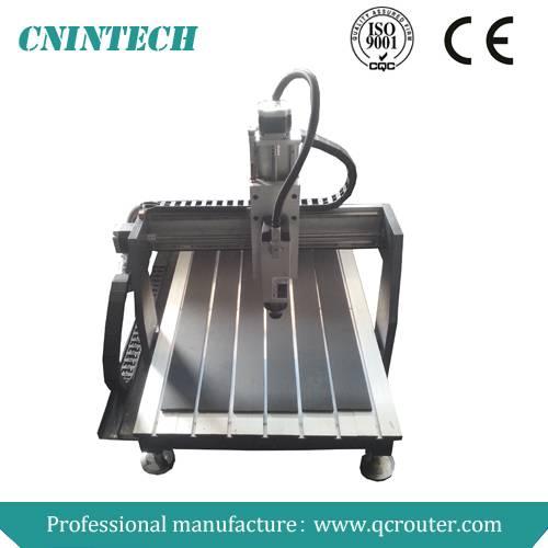2014 Jinan Qichen CNINTECH QC6090 mini cnc router machine