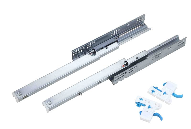 full extension concealed soft close drawer slide with CL clips