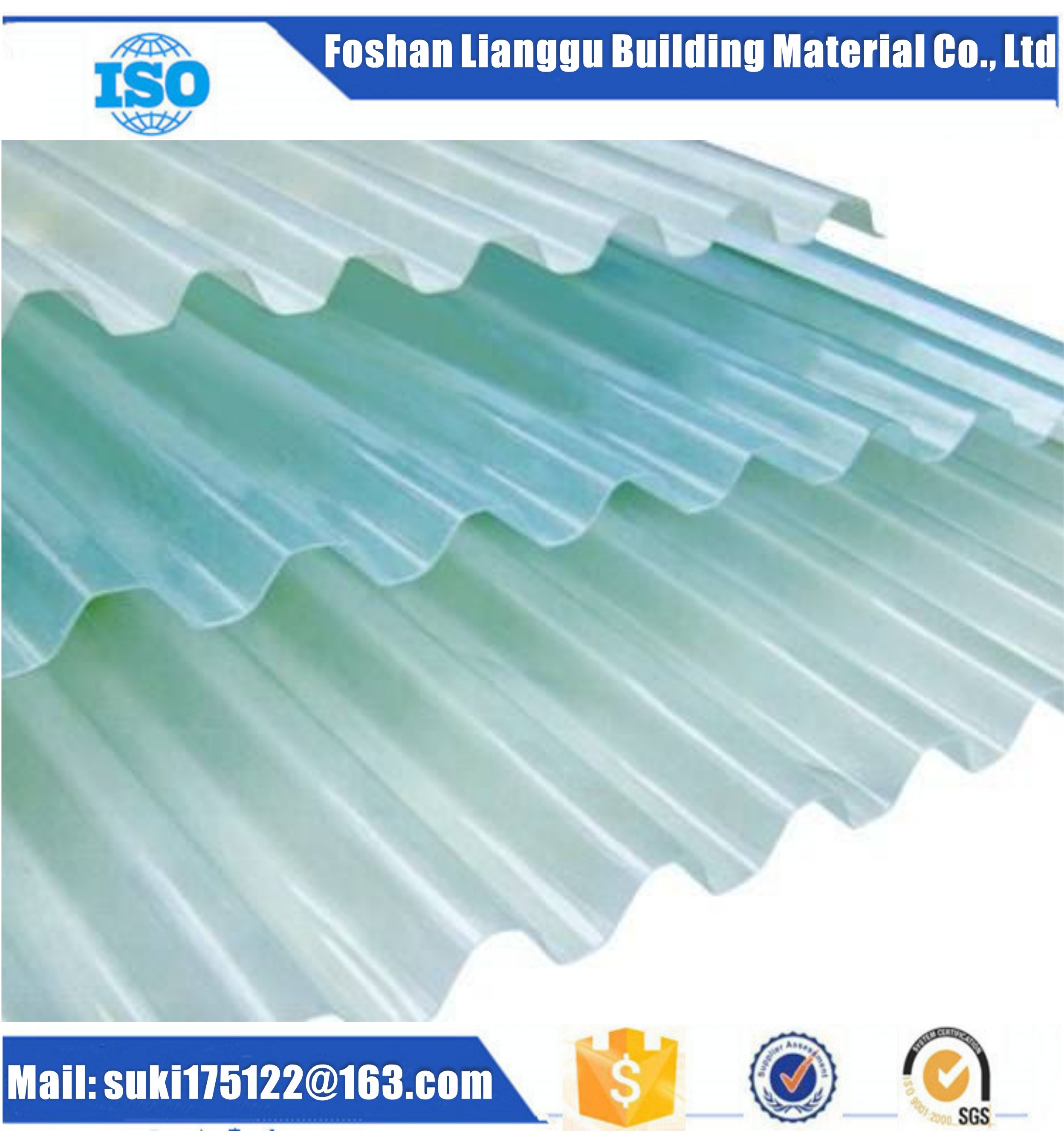 FRP Anticorrosion Roof Sheet FRP Anti-corrosive Roofing Sheet