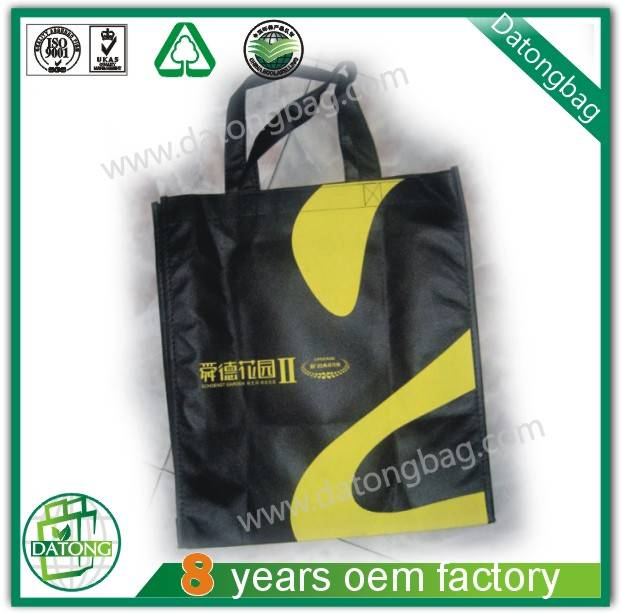 foldable non woven bag with handle