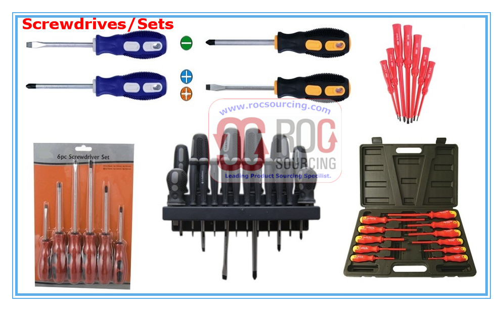 Phillips Screwdriver Slotted Screwdriver Insulated Screwdriver Hexgonal Screwdriver Other Screwdrive