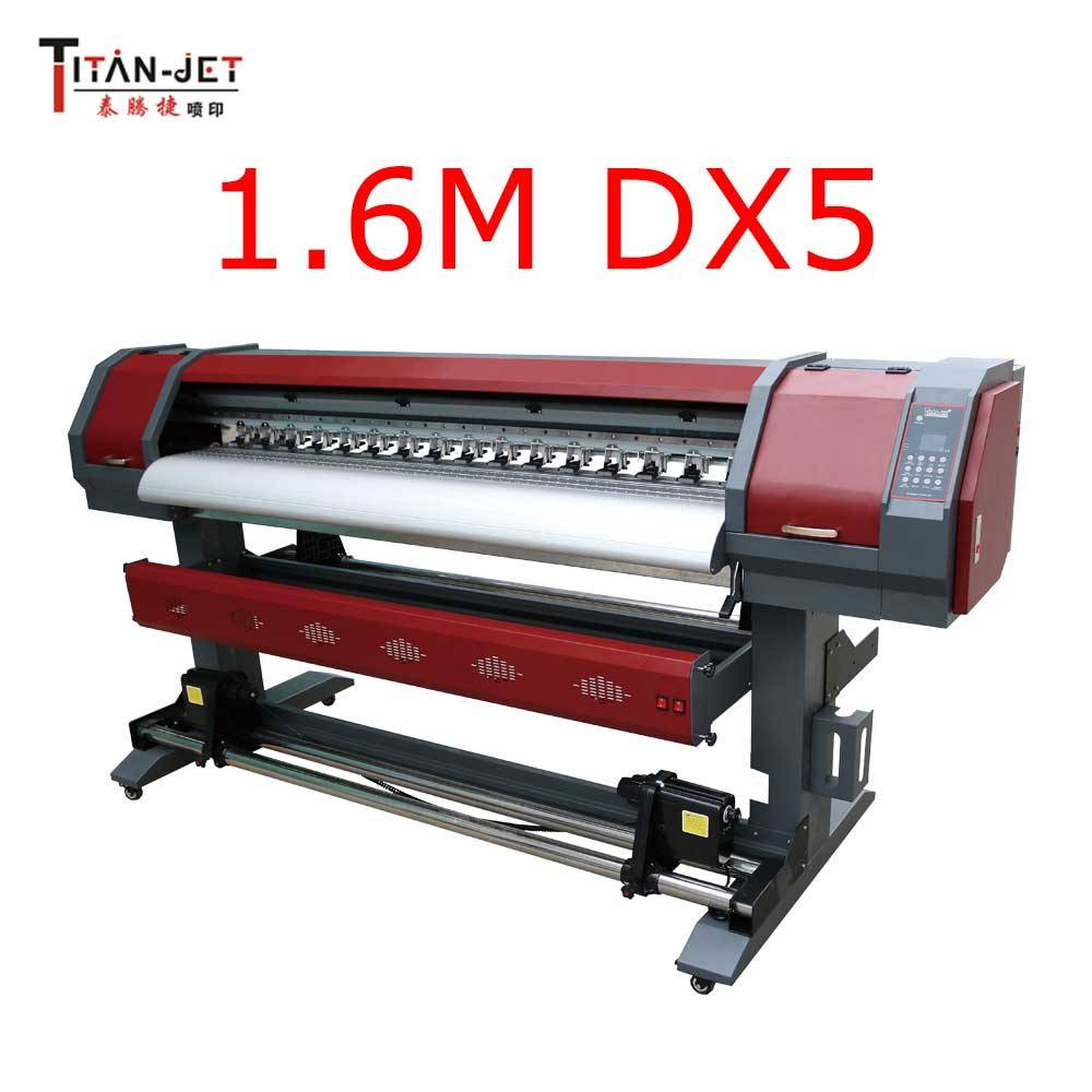Titanjet 1.6m eco solvent printer with Epson DX5